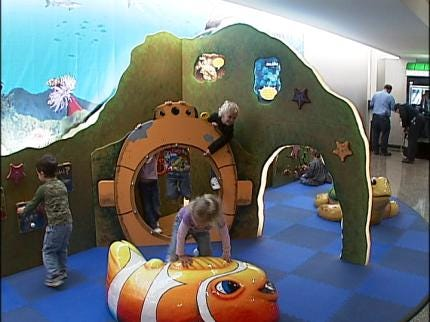 Aquarium Opens Play Area At TIA