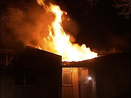 Ember Sparks Second Tulsa Apartment Fire
