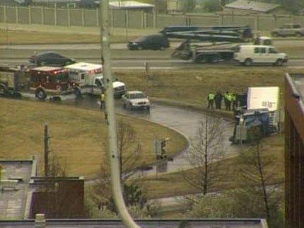 Semi Accident Closes Tulsa Highway Exit