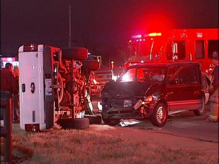 Both Drivers Claim Green Light In Tulsa Accident