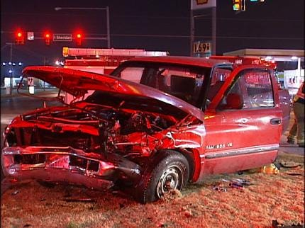 Tulsa Crews Respond To Hit And Run