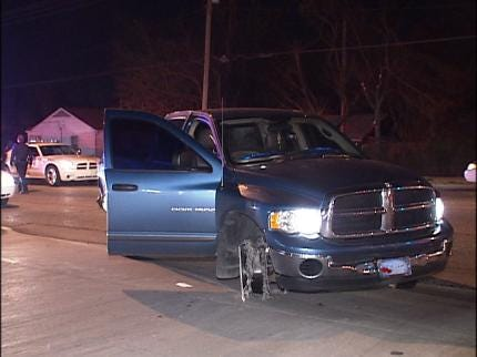 Tulsa Police Chase Down Drunk Driver