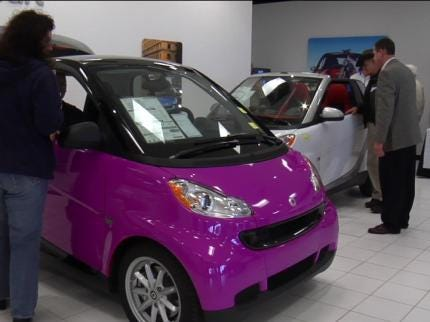 Tulsans Celebrate Smart Car's Birthday