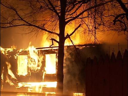 Tulsa Home Intentionally Set On Fire