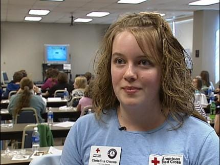 Red Cross Hosts Babysitting Boot Camp