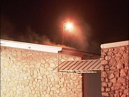 Sand Springs Church Damaged By Fire