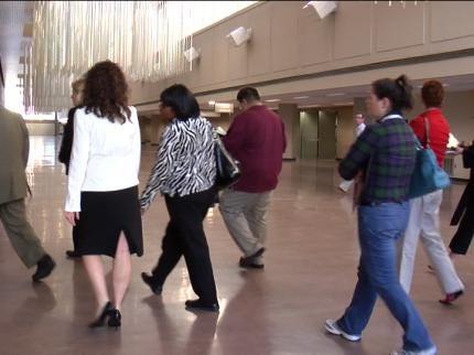 Visitors Tour Tulsa's Downtown Venues
