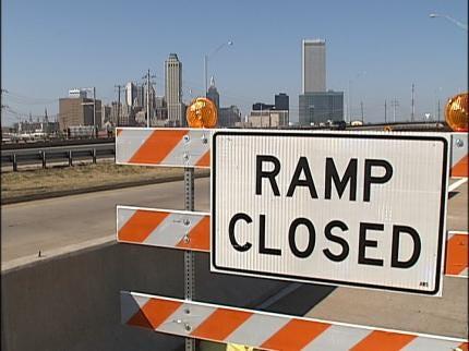 Construction Work Underway On Tulsa's IDL