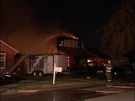 Berryhill Home Damaged By Fire