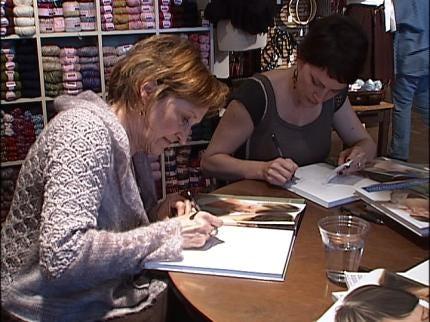 Knitting Guru, Author Visits Tulsa