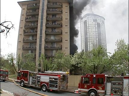 Woman Critically Injured In Tulsa Apartment Fire