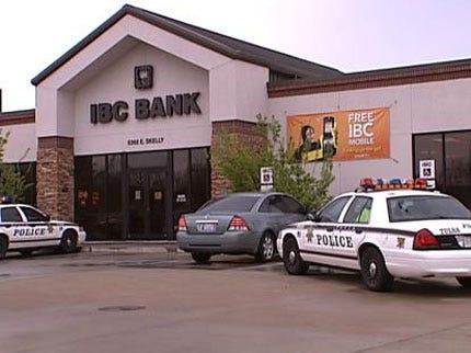 Tulsa IBC Bank Robbed