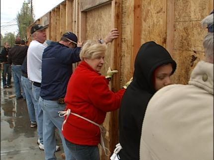 Tulsa Parishioners Building Two Habitat Homes