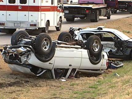 State Trooper Hurt In Crash Near Claremore