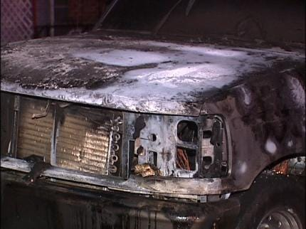 Three Cars Set On Fire In Tulsa