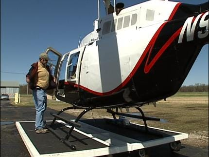 Helicopter Flyover Documents Arkansas River