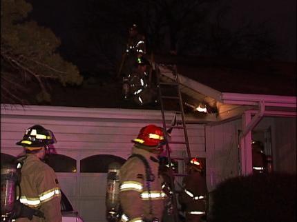 Three Escape Tulsa House Fire