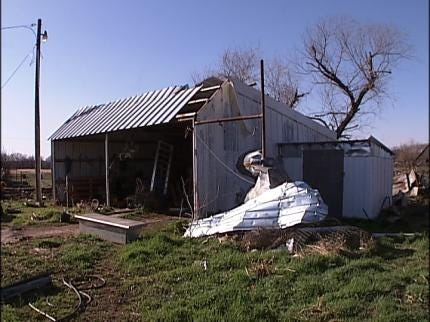 Tornado Damage Reported In Pawnee