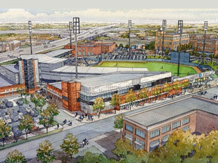 New ONEOK Field Renderings Approved