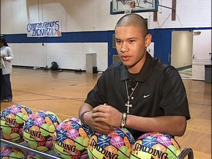 Sapulpa Teen Wins Basketball Design Contest