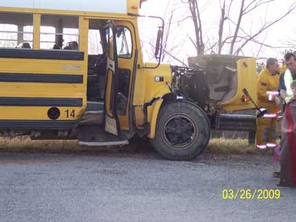 Colcord Students Injured In School Bus Crash