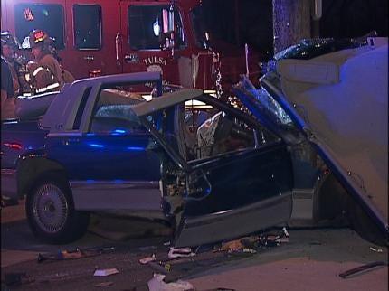 Tulsa Police: Pole Stops Speeding Motorist
