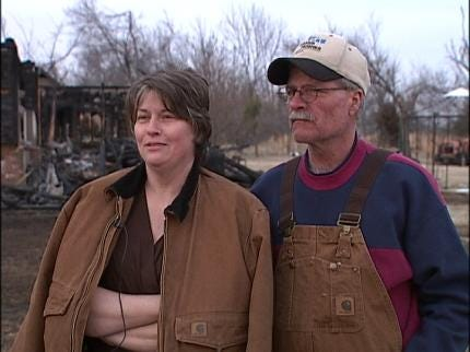 Home Destroyed By Fire After Dispatching Mistake