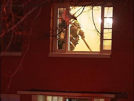 No Injuries In Tulsa Apartment Fire