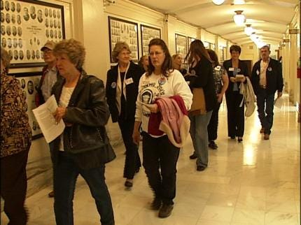 Dog Breeders Protest Statehouse Measure
