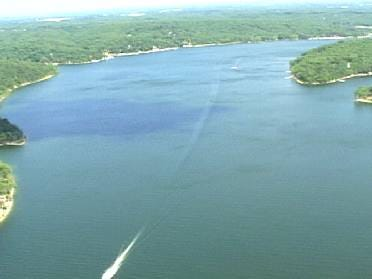 Search For Missing Boaters At Grand Lake