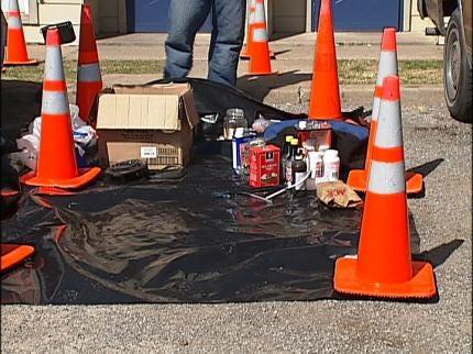 Meth Lab Found In West Tulsa Apartment