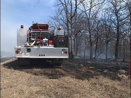 Area Firefighters Stress Importance Of Burn Ban