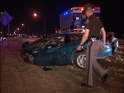 Driver Injured In Tulsa Crash With Semi