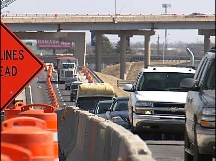 I-244 Repairs Snag Tulsa Traffic