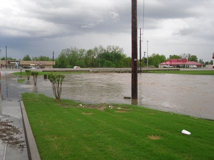 Claremore Deals With High Water