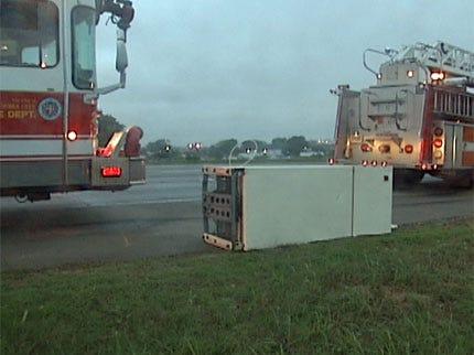 Refrigerator Leads To Fatal OKC Crash