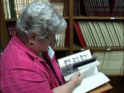 Retired Librarian Organizes Central High's Archive