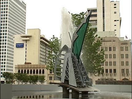 Tulsa Young Professionals Unveil Downtown Sculpture