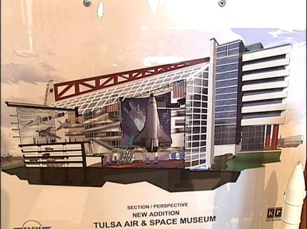 TASM Hopes To Land Space Shuttle In Tulsa