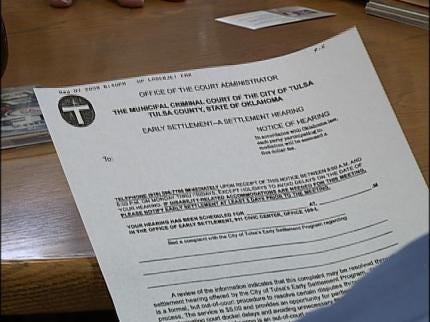 Tulsa Cuts Early Settlement Program