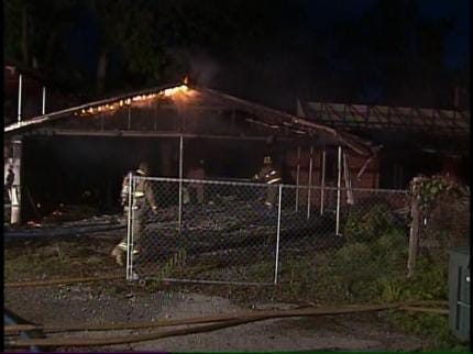 No Cause Of Turley House Fire