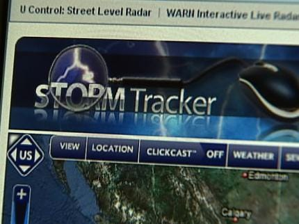 Riding Along With Storm Trackers