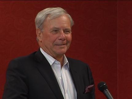 Tom Brokaw Visits Tulsa Retirement Home