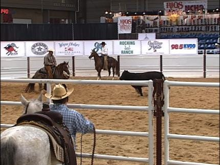 World-Class Cutting Horse Event In Tulsa