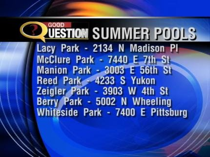 Only Seven City Pools Open This Summer