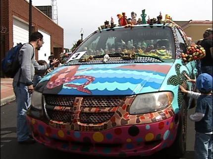 Art Cars On Display At Tulsa Festival