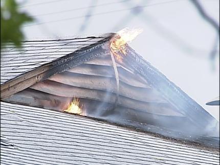 Dog Helps Alert Tulsa Homeowner Of Fire