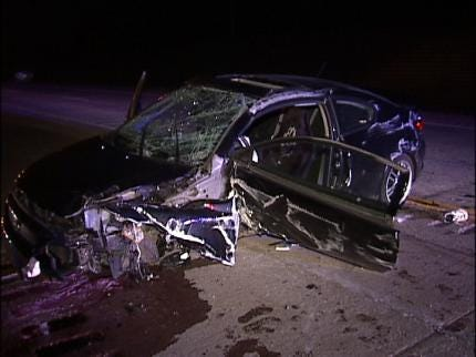 Crews Respond To Rogers Co. Head-On Collision