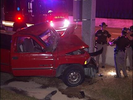 Two Tulsa Accidents Send Two To The Hospital