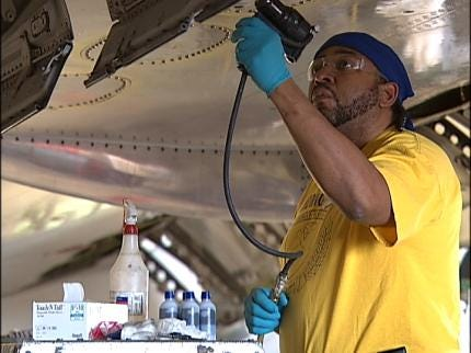American Airlines Proud Of Tulsa Base